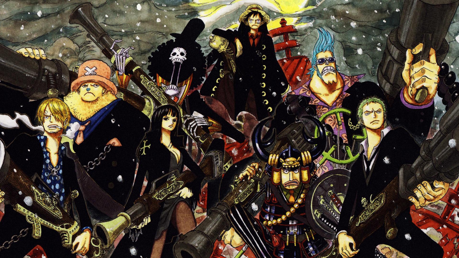 One Piece Crew Wallpaper New World