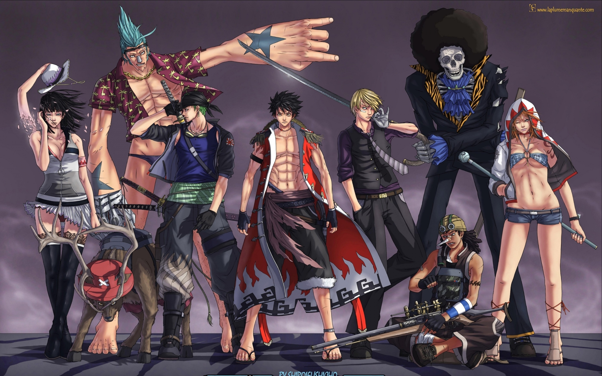 One Piece Wallpaper 1920 X 1200